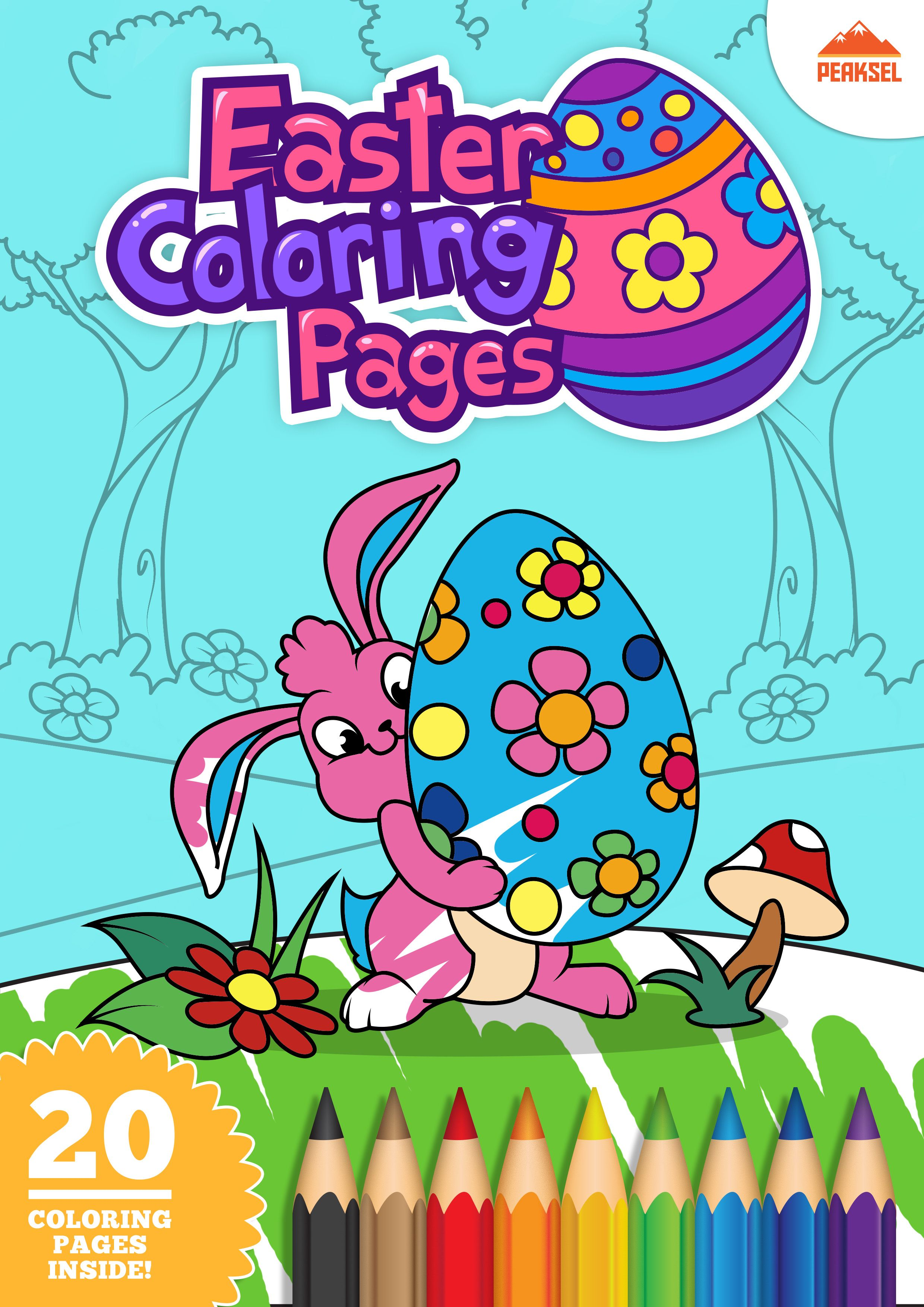 20 free printable Easter coloring pages for kids. Check it out ...