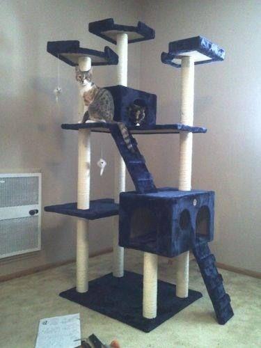 Arbol trepador para gatos trepar casa razcador omm 7086 - Trepadores para gatos ...