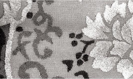 Damask in Dark rug by Woodland Furniture. Flooring We Love at Design Connection, Inc.| Kansas City Interior Design http://www.DesignConnectionInc.com