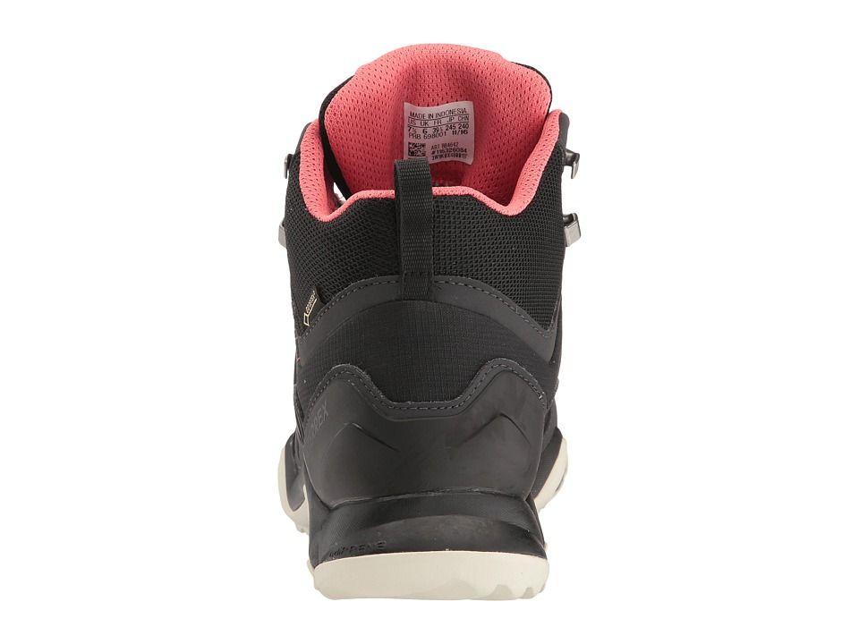new concept 10e6f e201f adidas Outdoor Terrex Swift R Mid GTX Womens Shoes BlackBlackTactile Pink