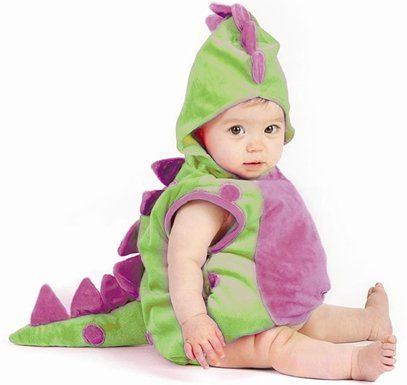 Baby Dinosaur Infant Toddler Costume sz Newborn 6-12M $31.24