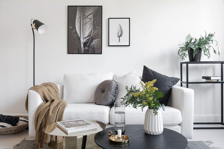 Un appartement au look épuré et blanc planete deco a homes world