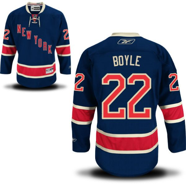 Dan Boyle New York Rangers Alternate - Third Jersey - Reebok Men's Premier  NY Rangers Alternate