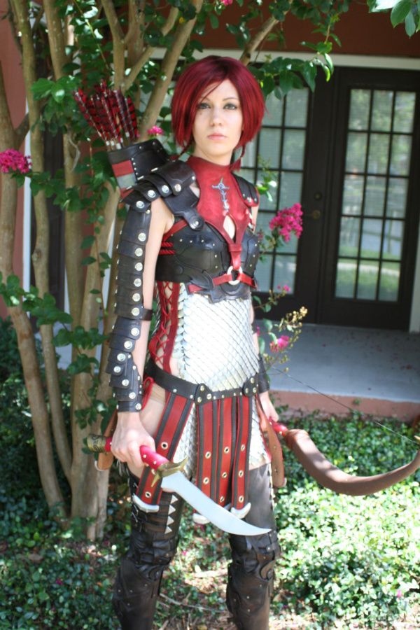 Dragon age leliana cosplay