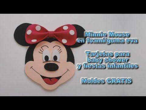 Manualidades para ganar dinero tarjetas baby shower para ni a minnie mouse personajes disney - Manualidades para ganar dinero ...