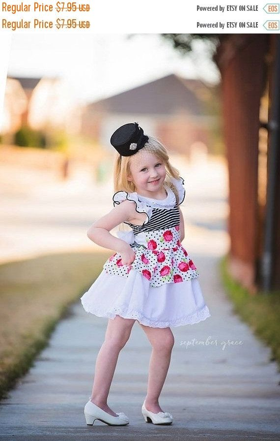 60% SALE Girls Quinn Dress  PDF Sewing by ellieandmacdesigns