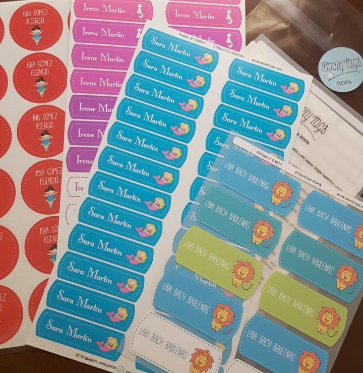 Etiquetas Para El Cole Etiquetaslibros Etiquetasropa Etiquetas Escolares Para Imprimir Etiquetas Utiles Escolares