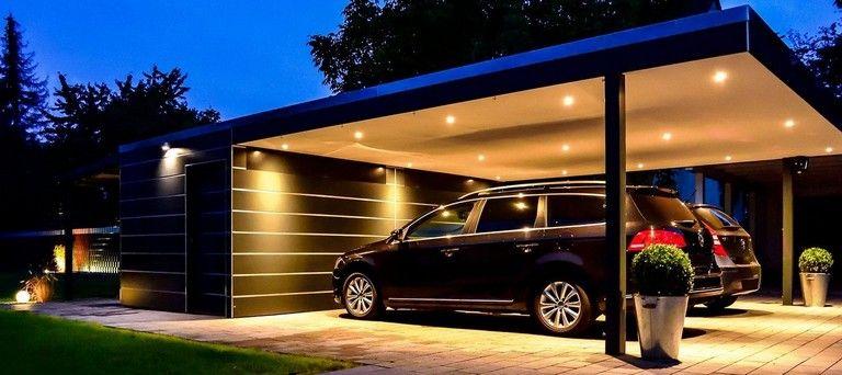 42 Awesome For Minimalist Carport Design Ideas Carport Designs Modern Carport Garage Design