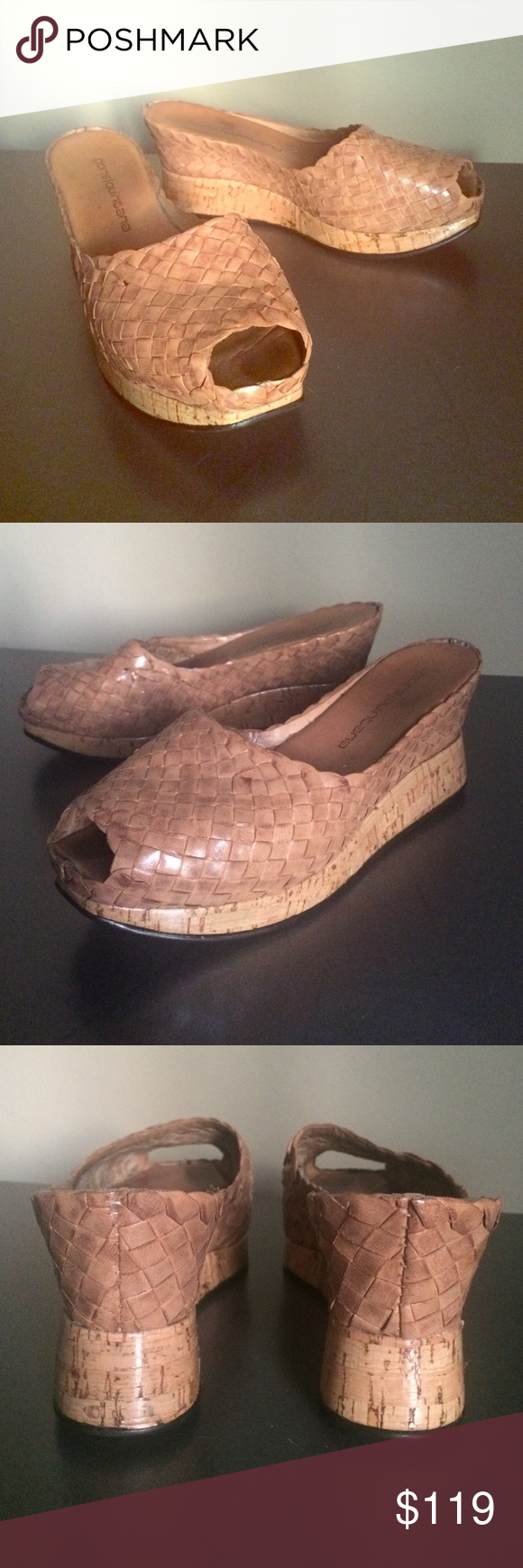 Rare! pons quitana Handmade Wedge Sandals - 37/7.5 RARE! & Like New |  pons quitana Spanish handmade wedge sandals in an excellent condition size 37/7 - 7.5 Pons Quitana Shoes Sandals