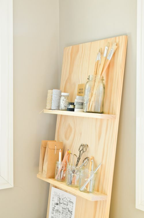 Scandi Home: DIY Shelf System for the Study   DIY   Pinterest ...
