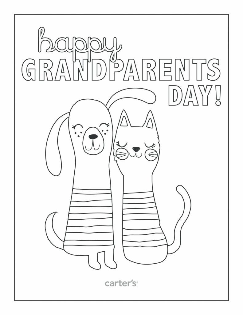 Grandparents Day Coloring Pages coloring pages