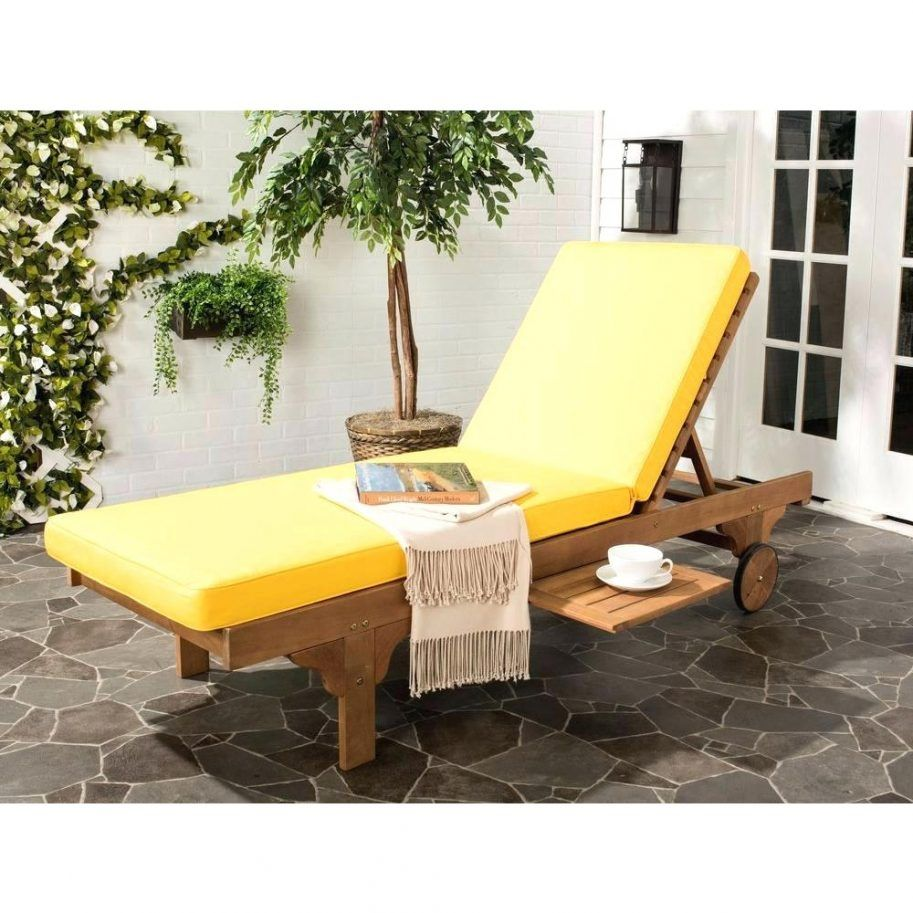 Pvc chaise lounge chair yellow productcreationlabs