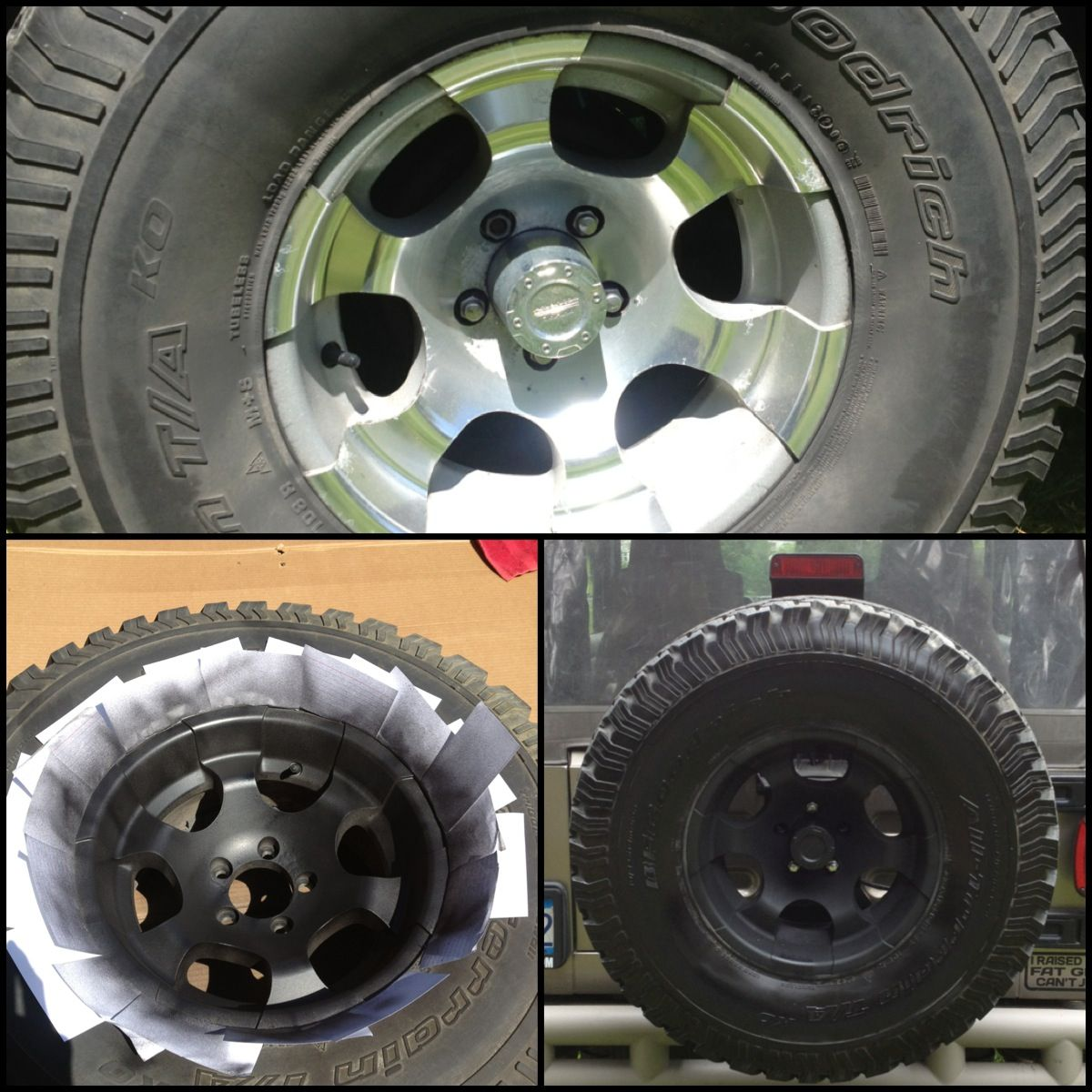 converting wheels from chrome to black 12 diy conversion with