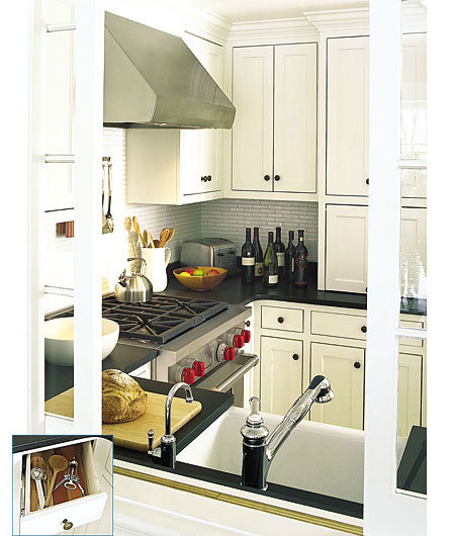 five small kitchens from this old house | kitchen design