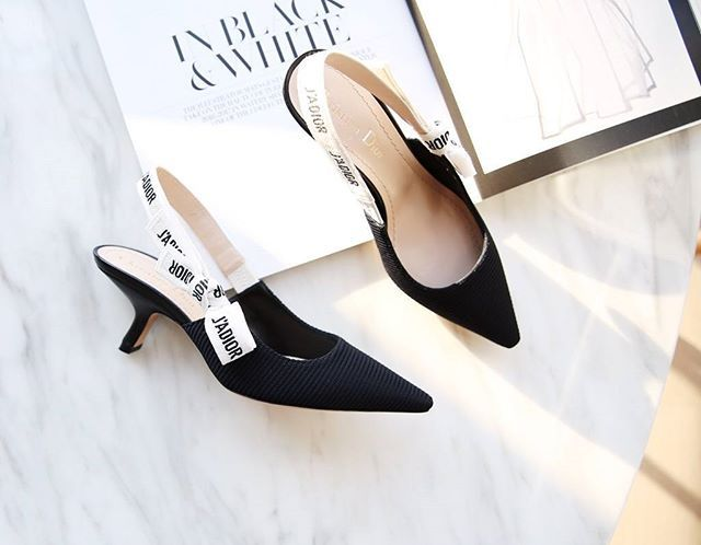 2a2d78d5a13 Were lowering the tone bye skyscraper stilettos hello kitten heels dior  whatsapp our personal shoppers threadsstyling
