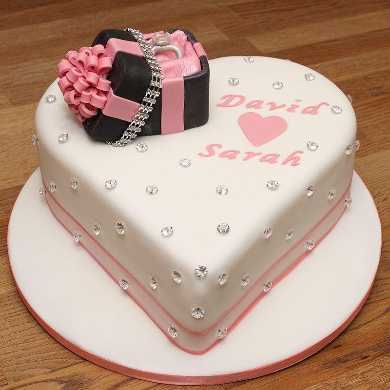 Custom Engagement Ring Box Cakes Designs 38 Engagement Cake