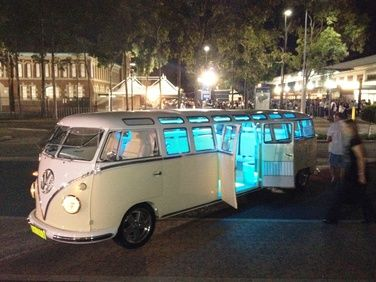 the glow of the interior lights on the stretch kombi. Black Bedroom Furniture Sets. Home Design Ideas