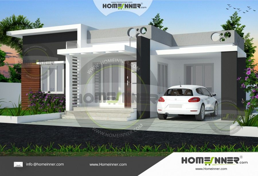 Small 3 bedroom house plan | 1 | Pinterest | Contemporary style ...