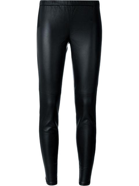 f0ae1cadb636f1 MICHAEL MICHAEL KORS Faux Leather Leggings. #michaelmichaelkors #cloth # leggings