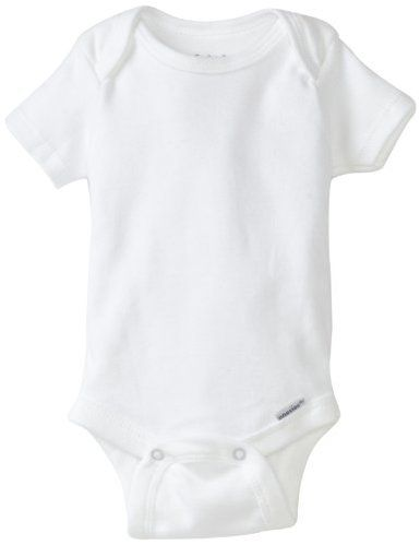 100/% Natural infant Toddler Tee white 4T