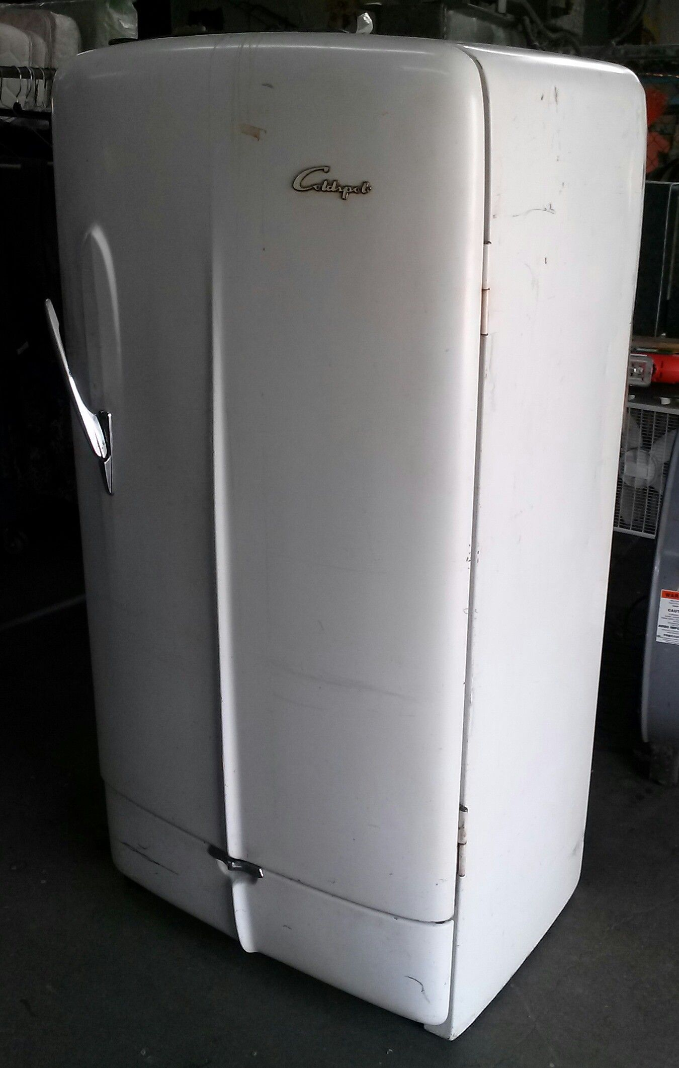 A 1949 GE Coldspot refrigerator in working condition! | 2310 Rock ...