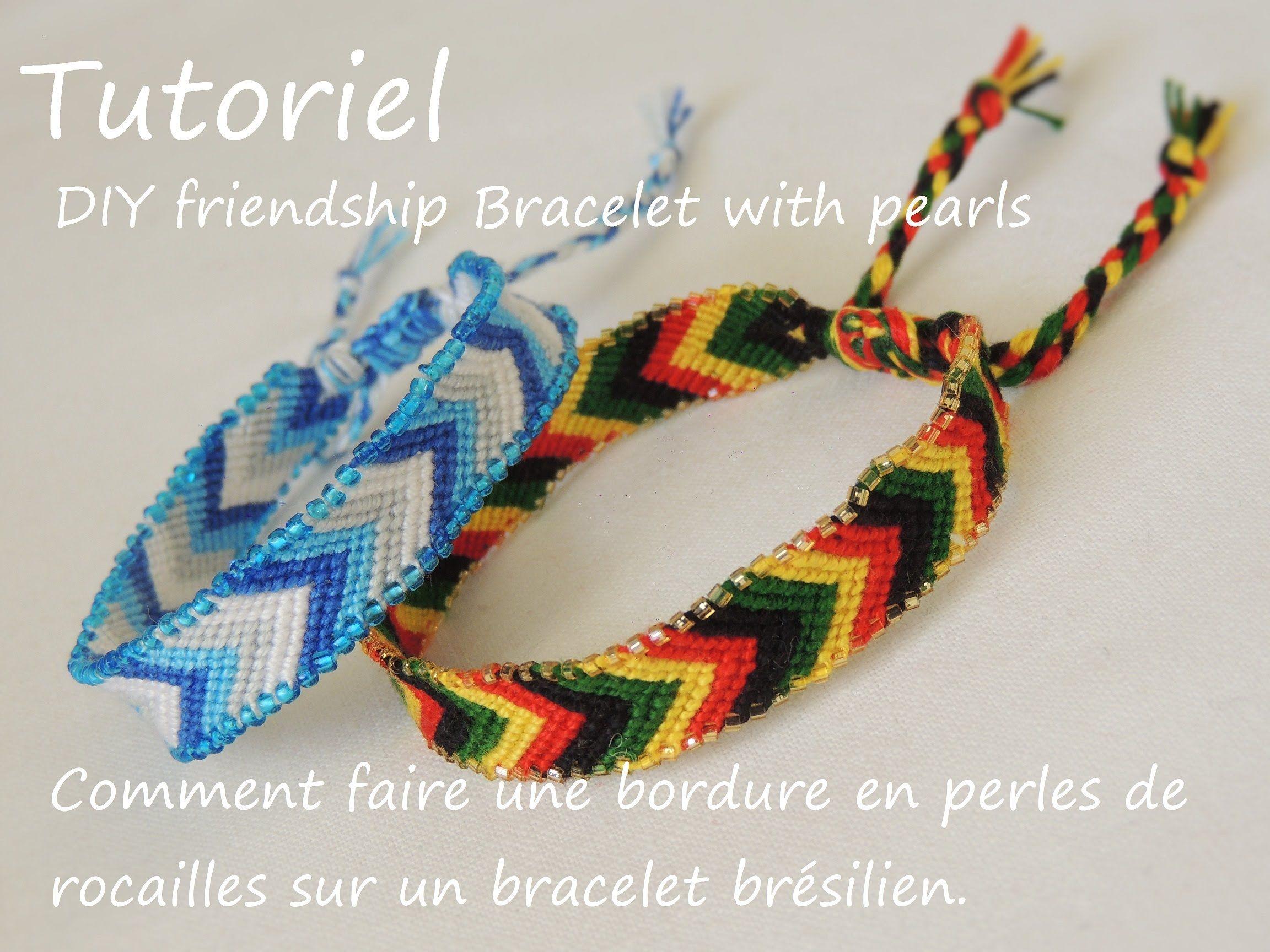 Comment Faire Une Bordure En Perles De Rocailles Diy Friendship