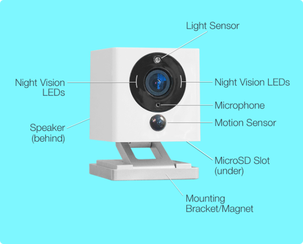Spot The Coolest Smart Home Security Camera Ever Indiegogo Security Cameras For Home Smart Home Security Home Automation
