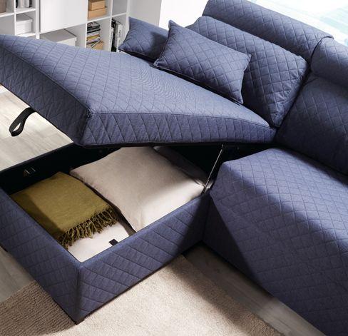 sofacama Friend de Kibuc la chaise longue incorpora un arc³n para