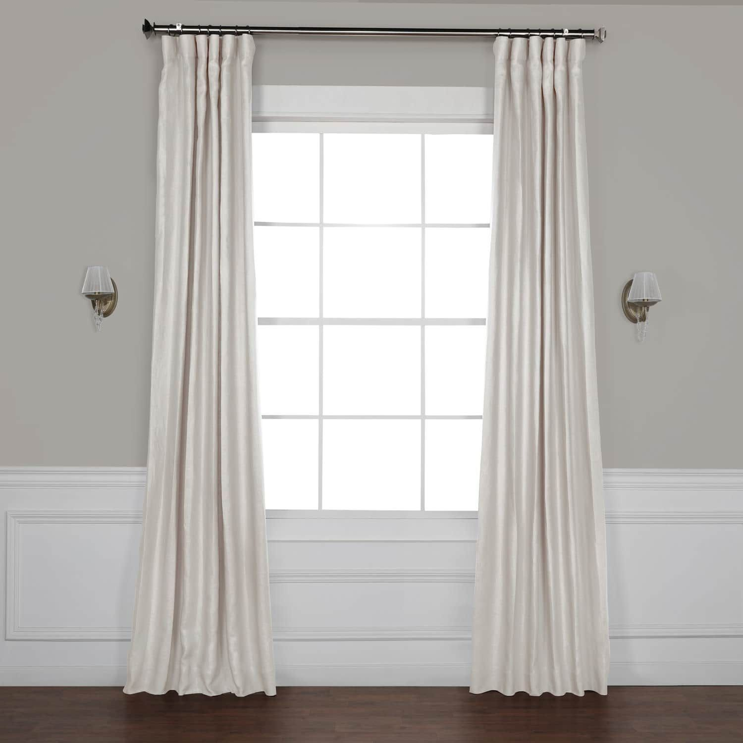 Earl Grey French Linen Curtain Velvet Curtains Lined Curtains Panel Curtains