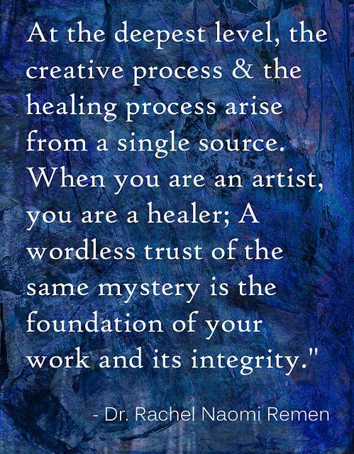 Creative Process, Healing Process