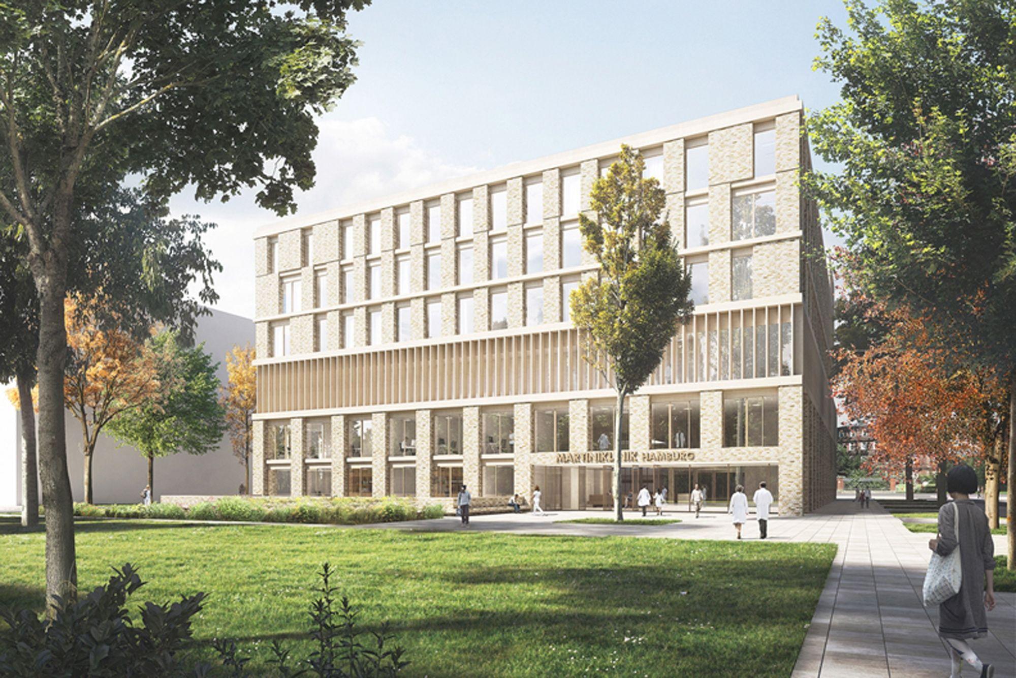 Universitätsklinikum Hamburg-Eppendorf – Neubau der Martiniklinik ...