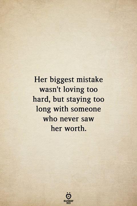 Her Biggest Mistake Wasn't Loving Too Hard,