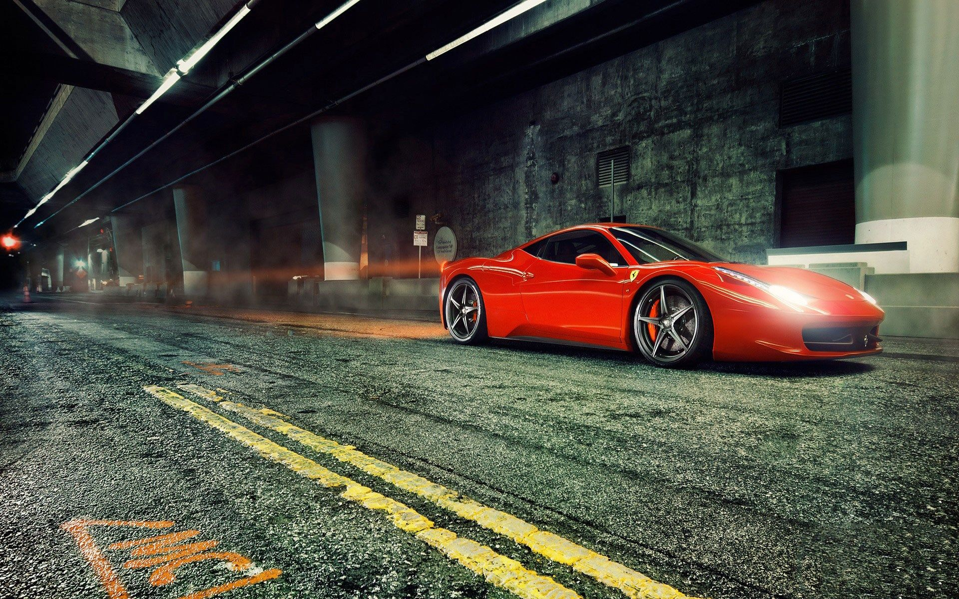 Ferrari 458 Italia Full HD Pictures 1920x1200