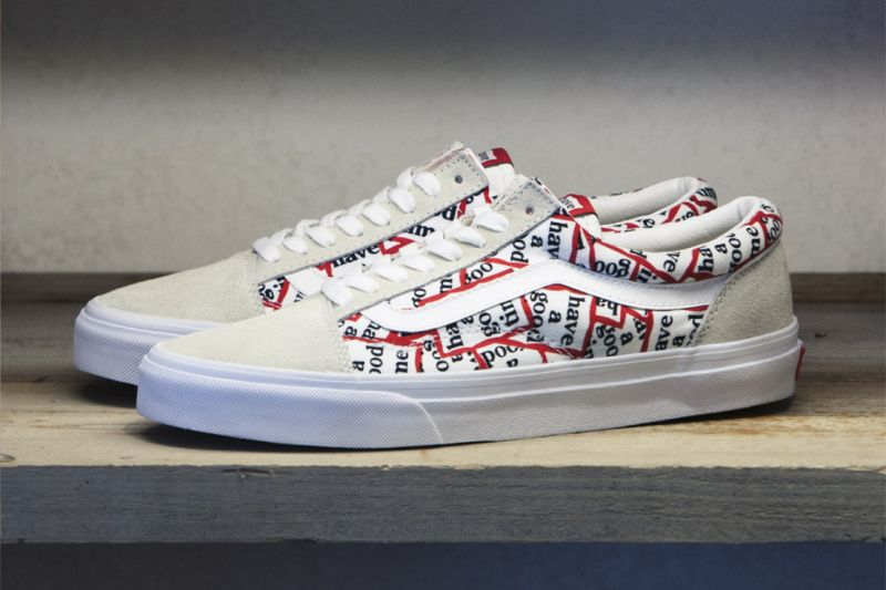 "Vans and Tokyo-based have a good time have followed-up 2013's collaboration alongside BEAMS with a brand new pair of footwear for Summer 2015.  ""Have a Good Time'"