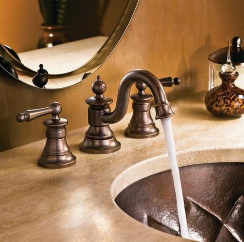 Moen S Waterhill Bathroom Faucet In Bronze Bronze Bathroom