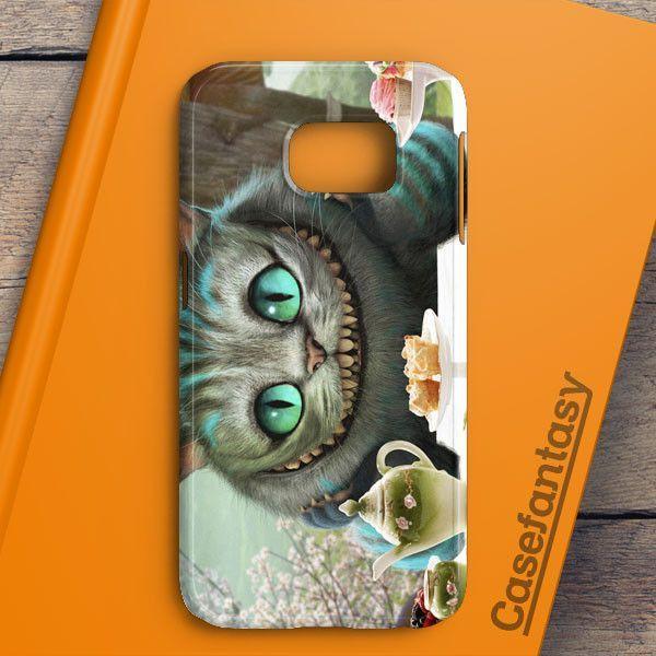 Alice In Wonderland Cat Samsung Galaxy S6 Edge Case | casefantasy