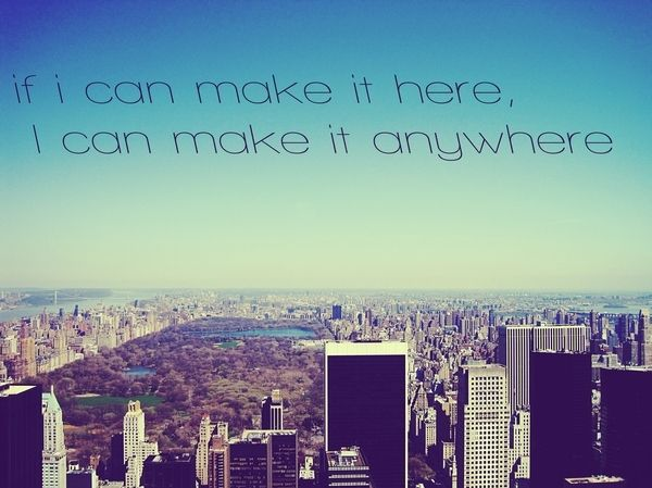 Blue City New York Quotes Text