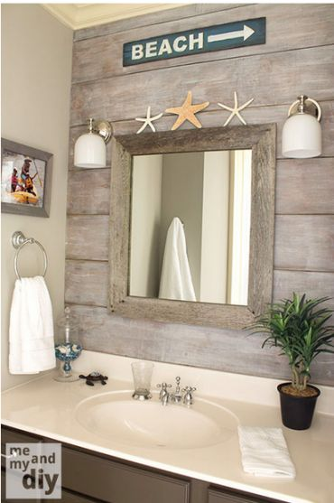 Photo of 5 Beach Themed Bathrooms that will blow you away – Beach Bliss Living