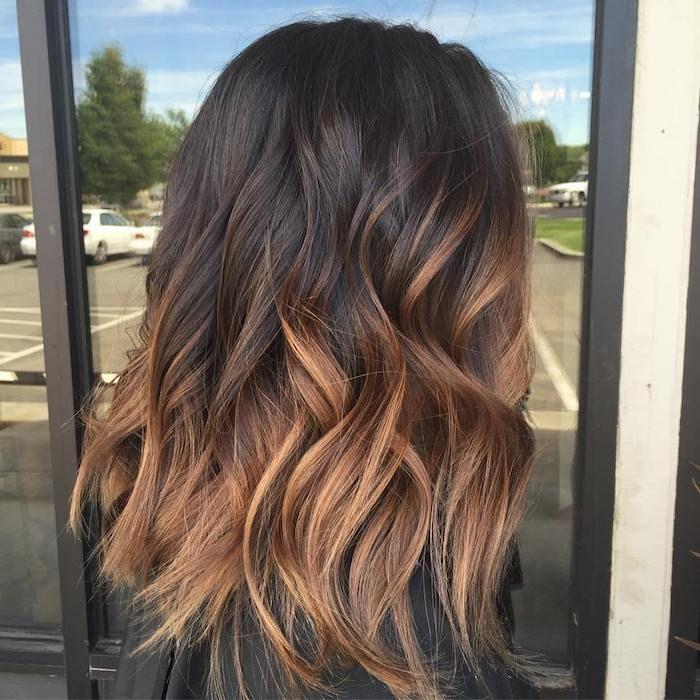 Haarfarbe braun dunkel