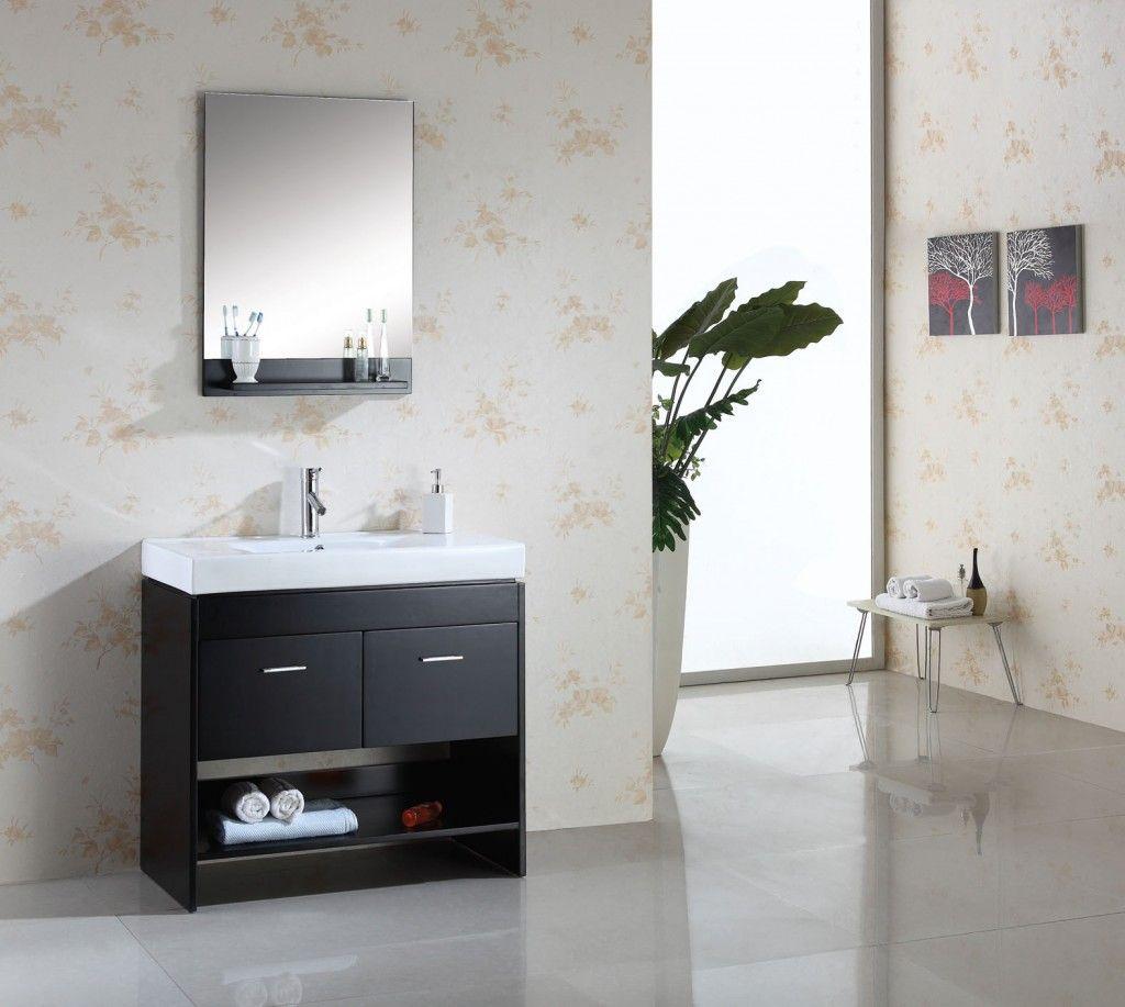 Mueble bajo lavabo gabinetes de ba os gabinetes de for Bajo gabinete tocador bano de madera