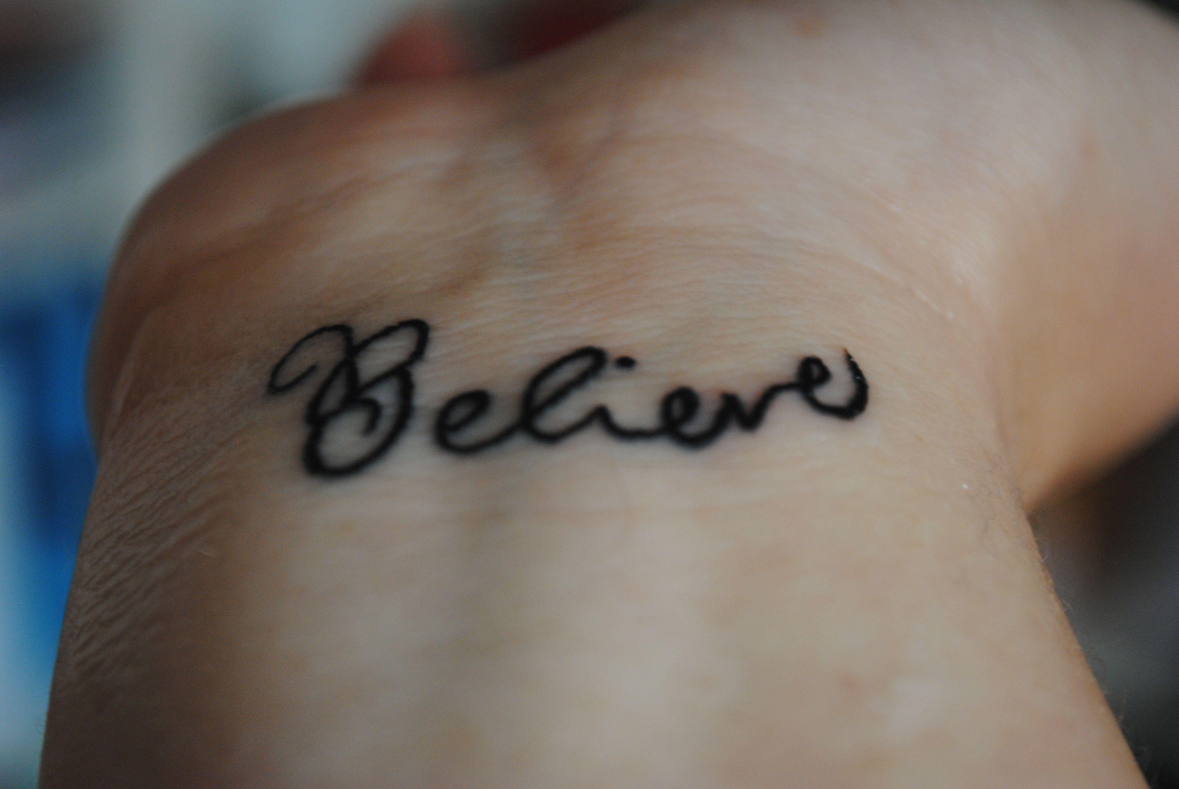 Believe real tatoo tattoo pinterest tatoo tatting and tattoo