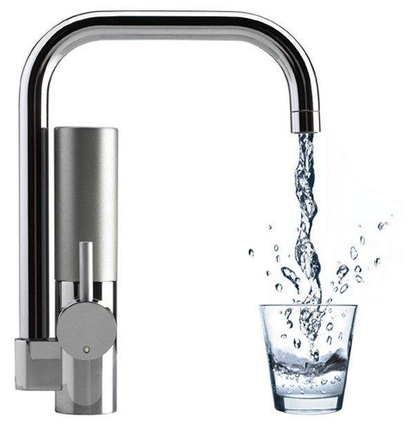 Attractive Kitchen Water Filter Faucet #4 - Cutting Edge Water Filtering Kitchen Tap: Mywell , The Mywell Faucet Was  Created By Orsodesign