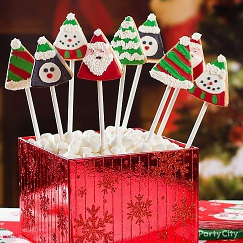 Easy cookies to decorate really cute presentation christmas 12 decadent christmas treats ideas tis the season to have yourself a merry little dip n drizzle candy melts party solutioingenieria Images