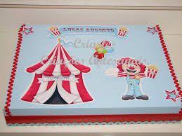 Resultado de imagem para caixa mdf festa circo