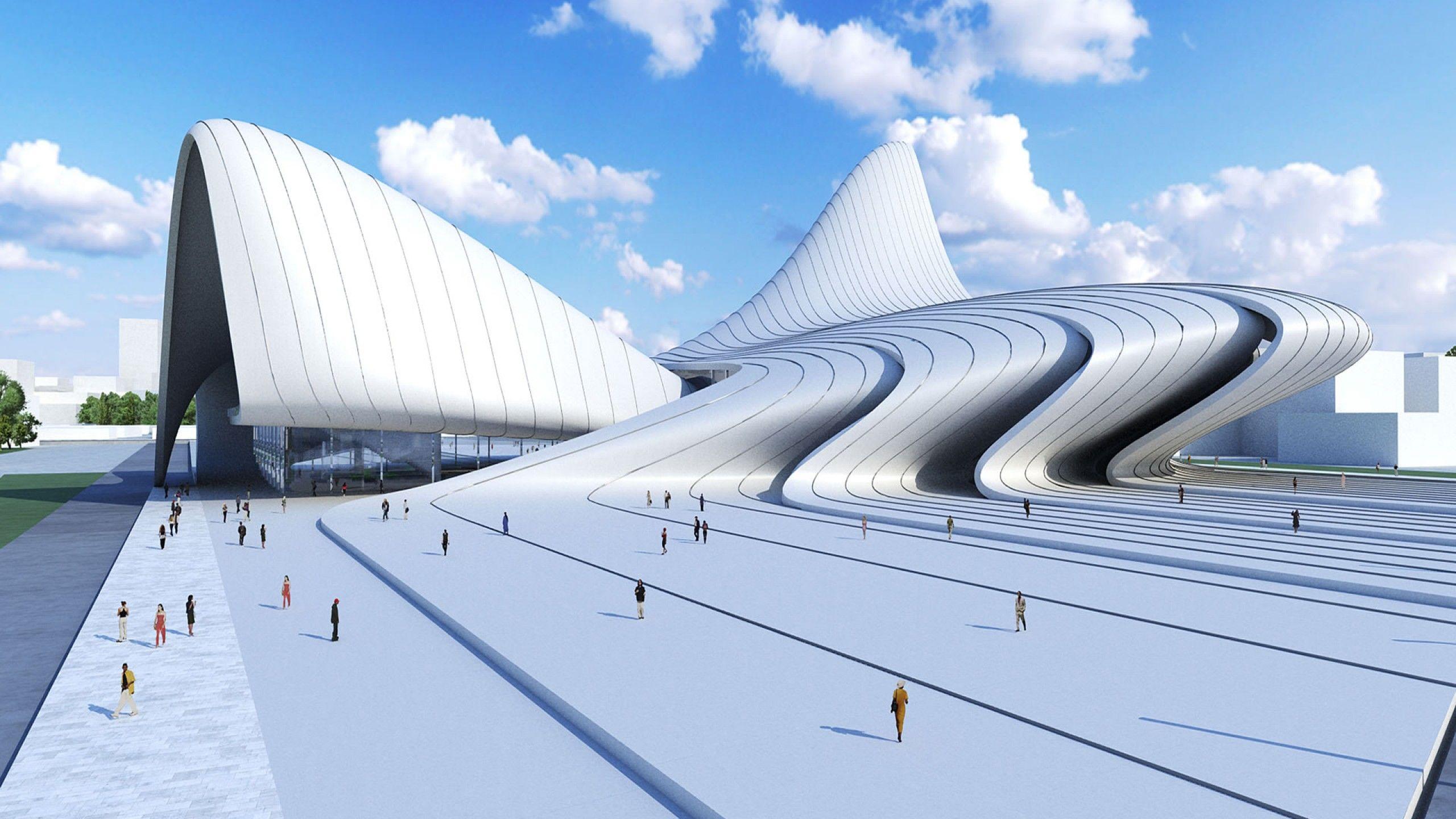 Fondos De Pantalla De Arquitectura De Zaha Hadid