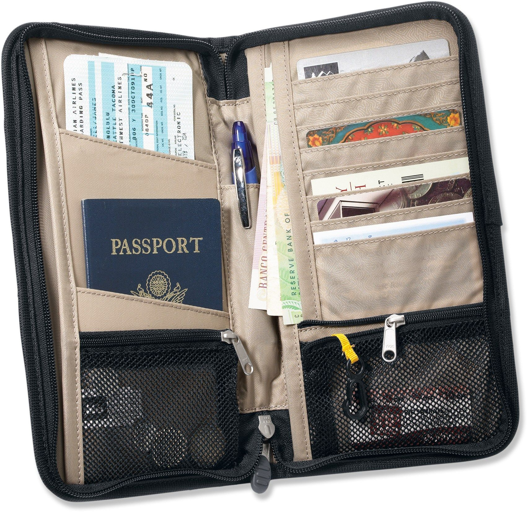 rei travel document organizer special buy at rei travel products travel. Black Bedroom Furniture Sets. Home Design Ideas