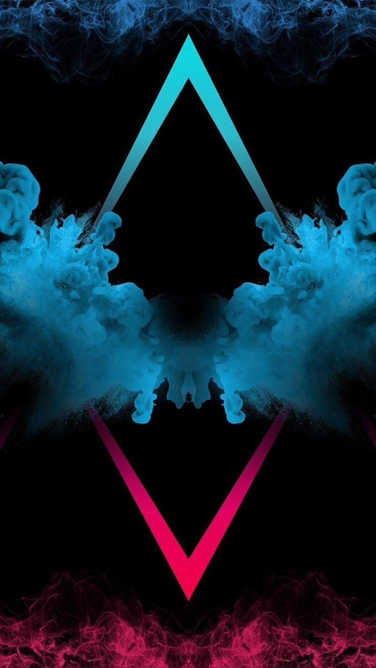 Azul x vermelho