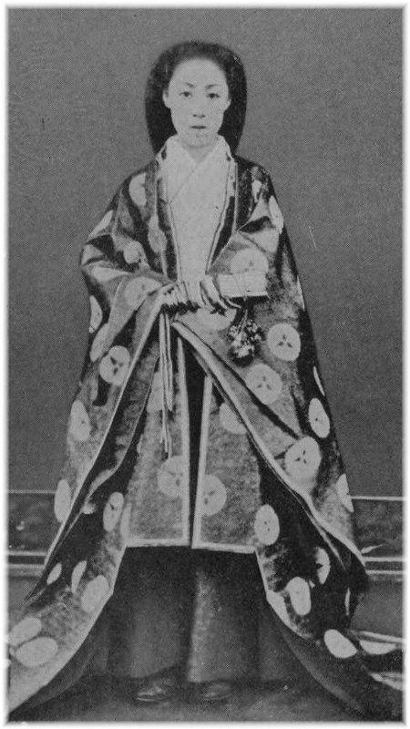 004d236eba8786 越後新発田藩主溝口直溥の娘 董子 | お姫さま | 皇族、溝口、古い写真