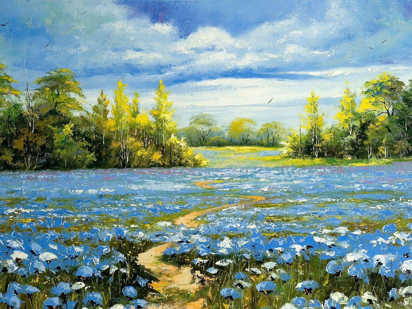 Oil Painting As A Weaving Template Cranbrook Weaving Inspiration Landscape Paintings Nature Paintings Landscape