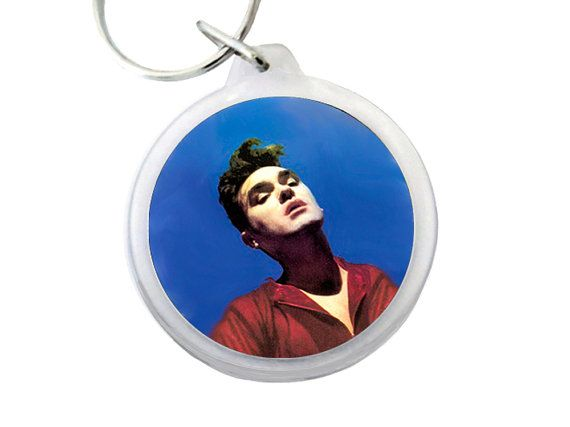 Morrissey Keyring Bona Drag Album Cover Pic On Plastic Keychain Lead Singer Of Uk Band The Smiths By Psychedelictara 5 0 Morrissey Album Covers Sonic Youth